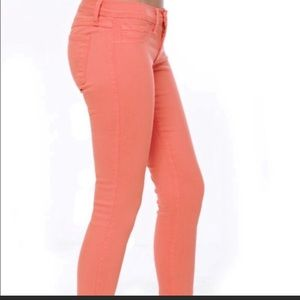 Flying Monkey | Coral | Skinny Jeans | 7